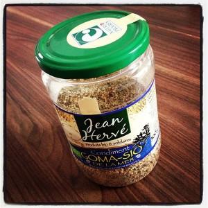 Gomasio – condiment à base de sésame, algues et sel