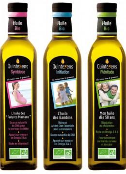 Les mélanges d'huiles de QuinteSens, adaptés aux besoins de chacun