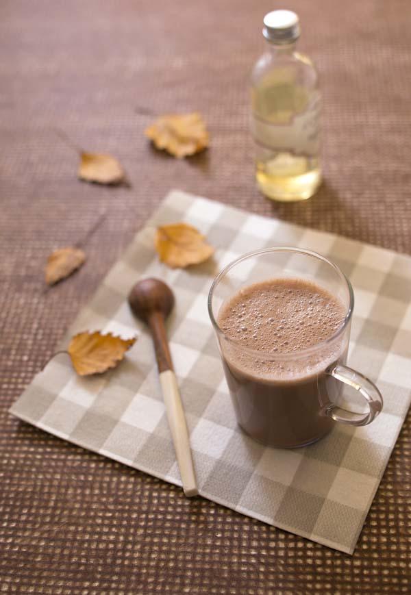 Photo recette Chocolat chaud végétal à la purée de noisette