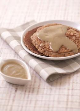 Crème à l'érable et au lait de soja noisette épeautre