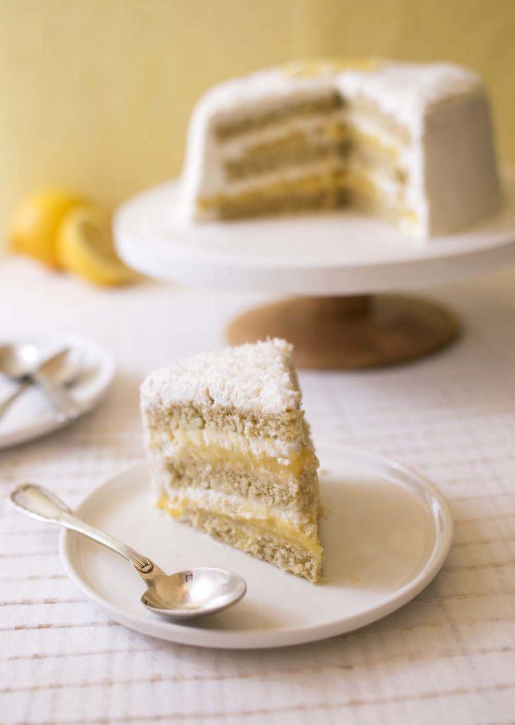 Cake Lait De Coco Citron