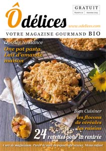 Sortie du magazine bio Odelices n°21 – automne 2015