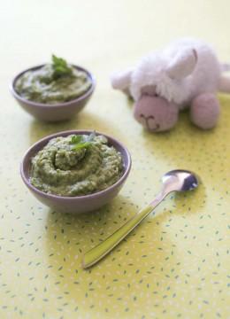 Purée de brocolis au persil – à partir de 6 mois
