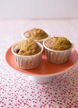 Muffins à la courge butternut façon carrot cake – Bataille food #28