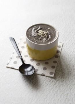 Velouté de lentilles beluga au lait de coco – à partir de 18 mois