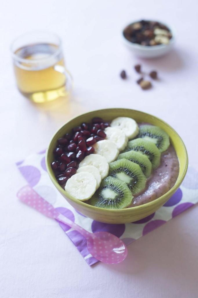 Photo de la recette : Açai bowl : le nouveau petit déjeuner healthy et tendance