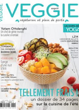 Esprit Veggie, «mon» nouveau magazine végétarien !