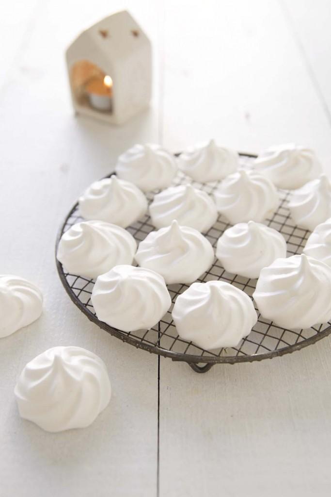 Photo de la recette : Petites meringues vegan sans oeuf, au jus de pois chiches