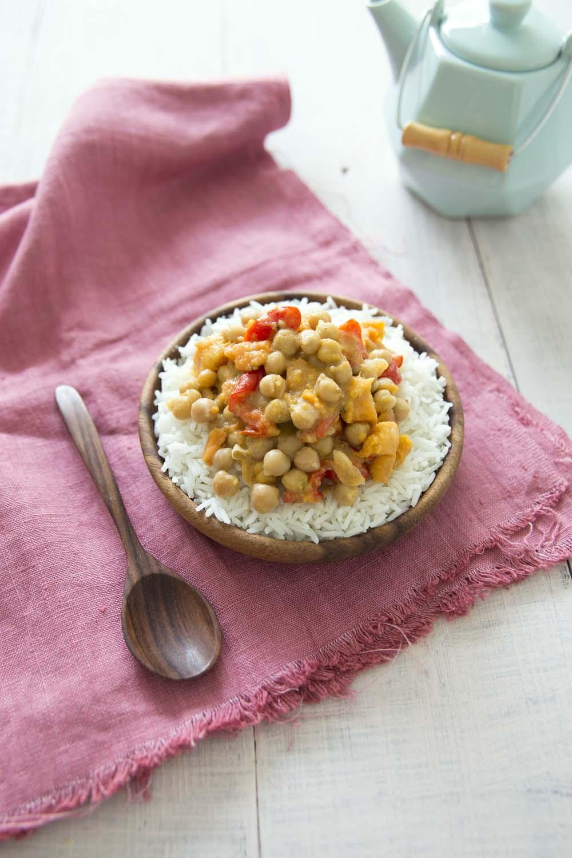 Patates douces aux pois chiches et poivrons sauce coco recettes de cuisine biod lices - Technique culture patate douce ...