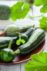 Calendrier des fruits et légumes de saison du mois de juillet - courgettes