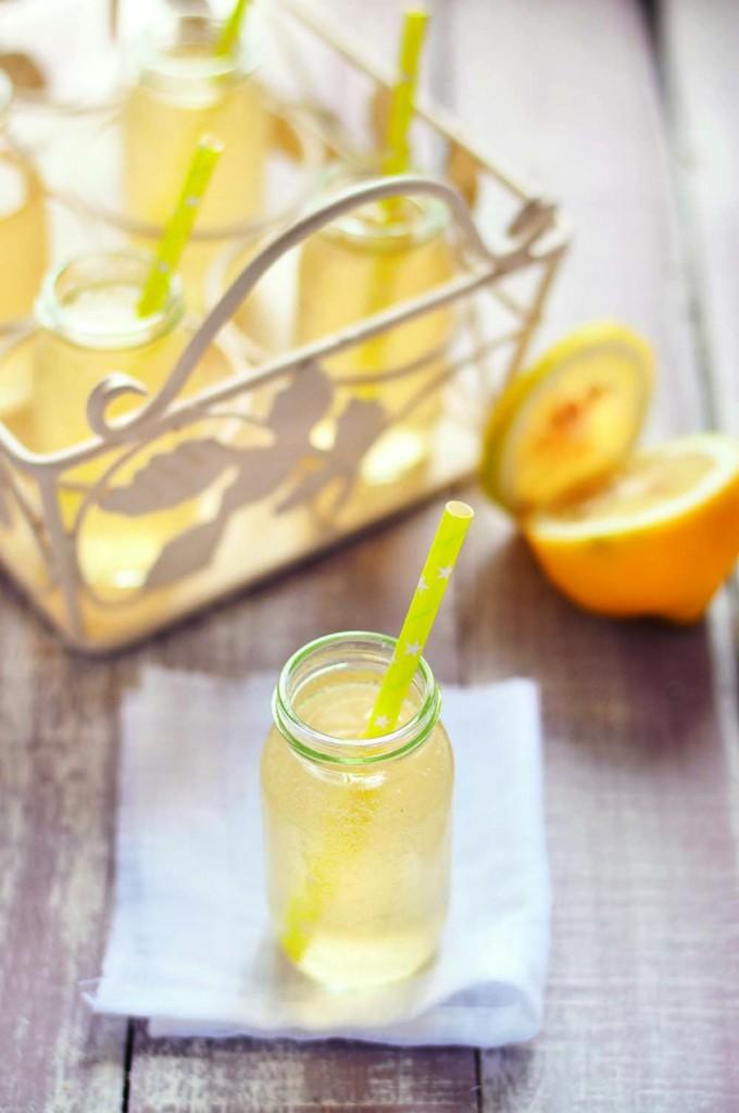 Kéfir au citron frais et touche de miel © Marie Chioca