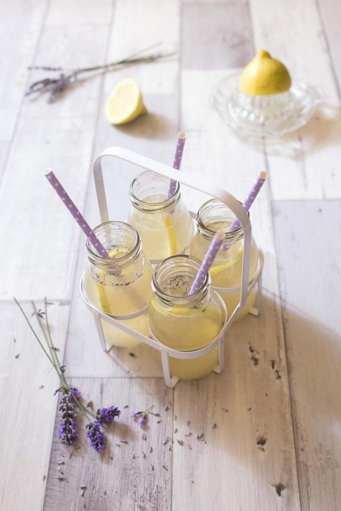 Photo de la recette : Citronnade à la lavande