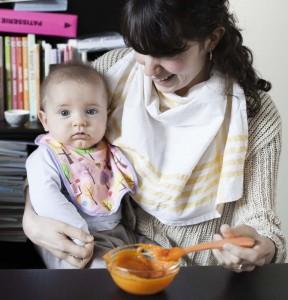 La diversification alimentaire d'un bébé de 0 à 3 ans