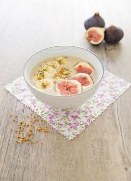 Smoothie bowl d'automne aux figues