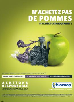 Biocoop condamné à payer à cause de sa campagne anti pesticide