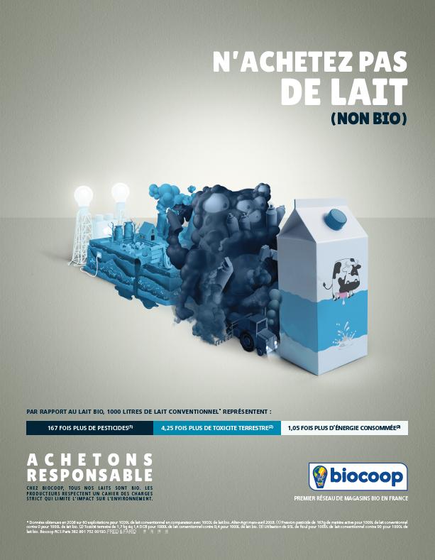 Campagne publicité Biocoop