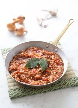 Sauce bolognaise (végétarien – vegan)