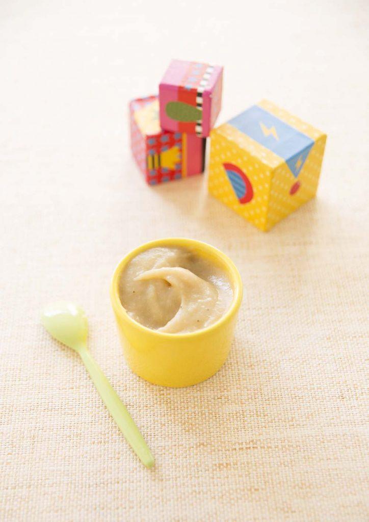 Compote de b b pomme banane recettes de cuisine biod lices - Temps de conservation compote maison pour bebe ...