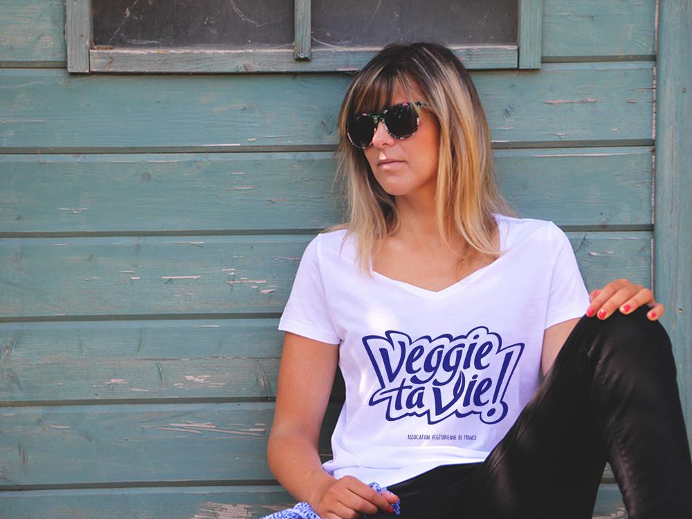 Tee-shirt solidaire AVF