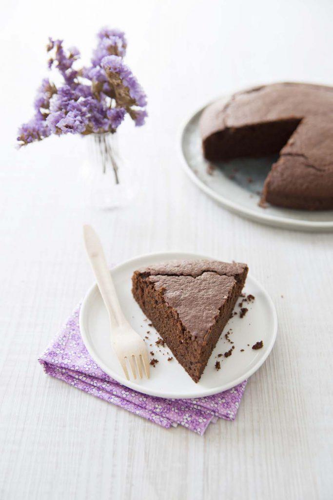 Photo de la recette : Gâteau au chocolat moelleux, sans gluten ni lactose