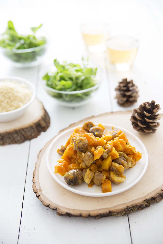 Po L E De Courge Butternut Aux Marrons Et Aux Pices Indiennes Recettes De Cuisine Biod Lices