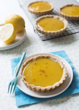 Tartelettes citron safran