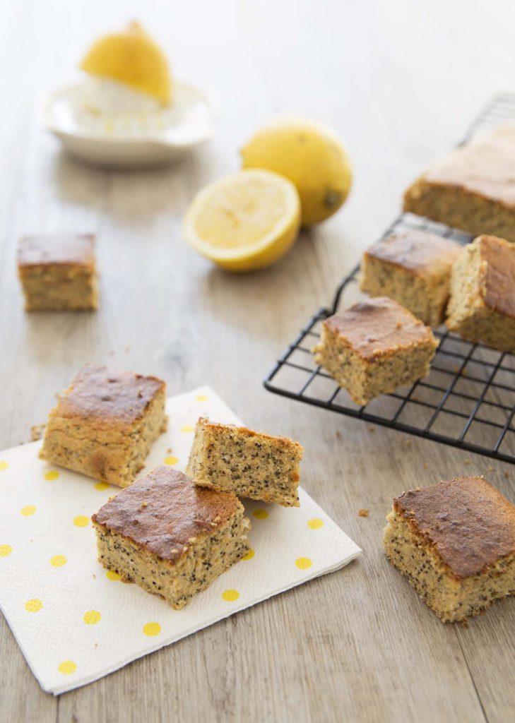 Photo de la recette : Gâteau citron pavot – sans lactose sans gluten