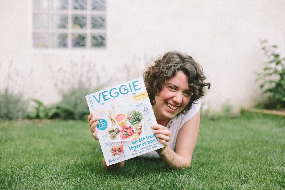 Le magazine Esprit Veggie n°1 - Crédit photo: Céline Lenormand