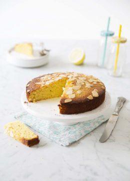 Gâteau au citron – sans gluten sans lactose