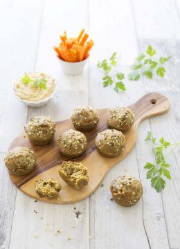 Mini muffins au curry et comté – sans gluten