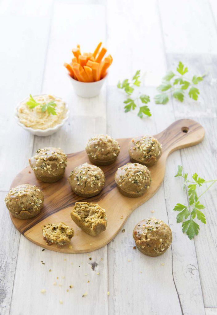 Photo de la recette : Mini muffins au curry et comté – sans gluten
