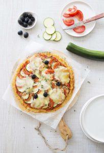 Cauliflower crust pizza : une pizza de chou-fleur sans gluten !