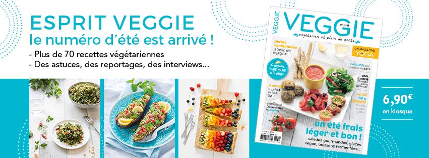 sortie du magazine Esprit Veggie n°1