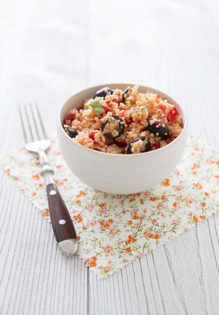 Photo de la recette : Taboulé aux olives et tomates