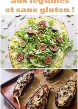 5 pizzas étonnantes aux légumes et sans gluten !