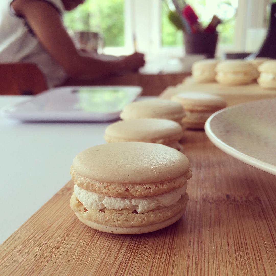Macarons vegan à la crème Esterelle - Linda Vongdara