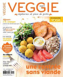 Magazine Esprit Veggie #2, pour une rentrée sans viande
