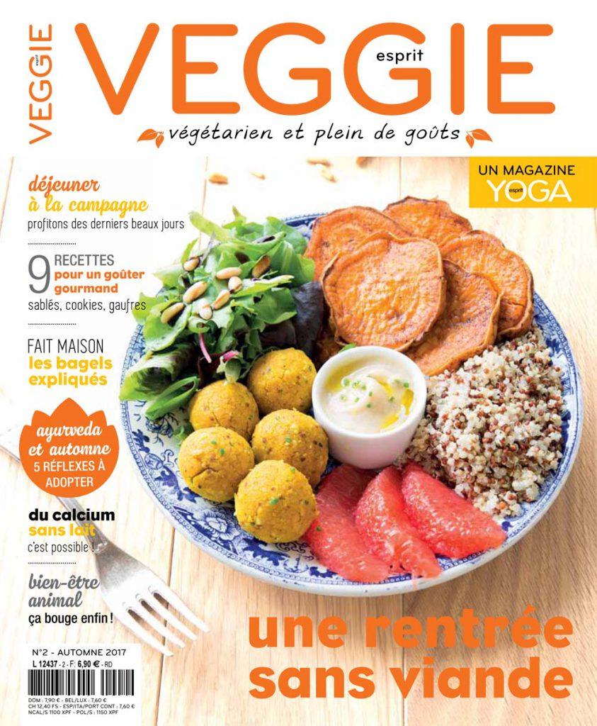 Magazine Esprit veggie #2 - Pour une rentrée sans viande