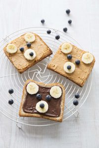Teddy bear toast – tartines nounours (Bataille Food #48)