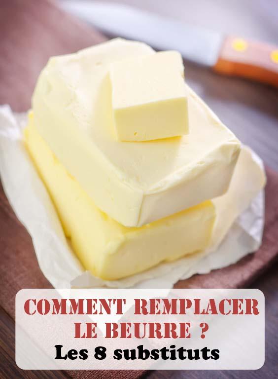 Comment remplacer le beurre? Les 8 meilleurs substituts