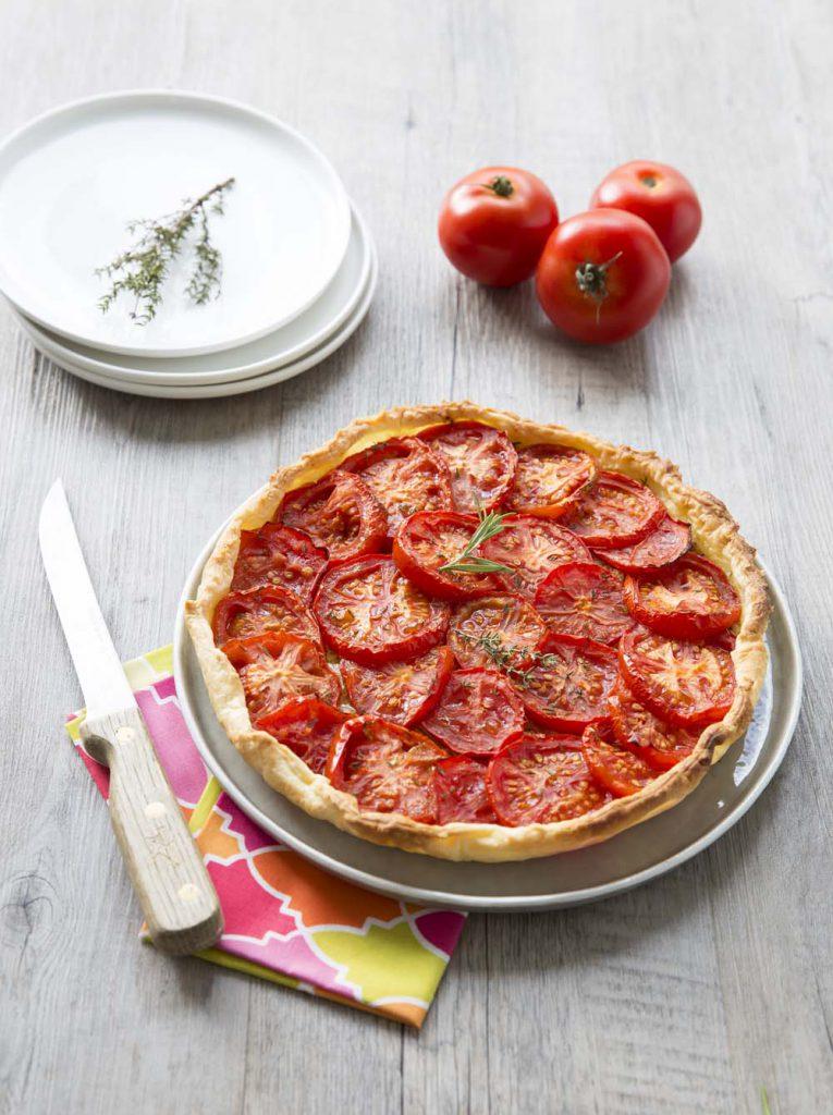 Photo de la recette : Tarte feuilletée à la tomate