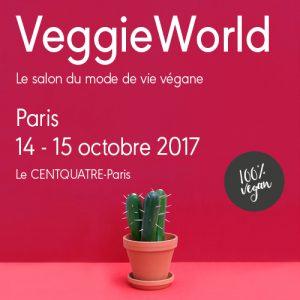 4ème édition du Salon VeggieWorld à Paris – 14 et 15 octobre 2017