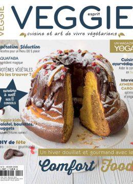 Sortie du magazine Esprit Veggie #3 + abonnement flash