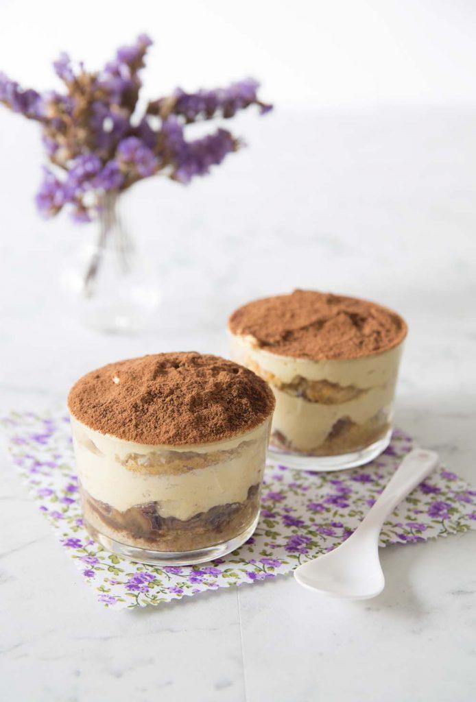 Photo de la recette : Tiramisu café, marrons et vanille