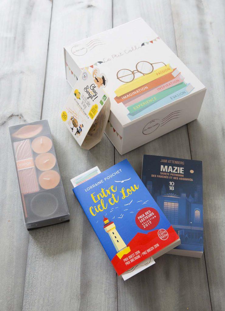 Box de livres - Le Ptit Colli