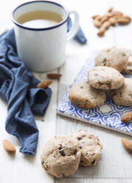 Cookies à l'okara et chocolat