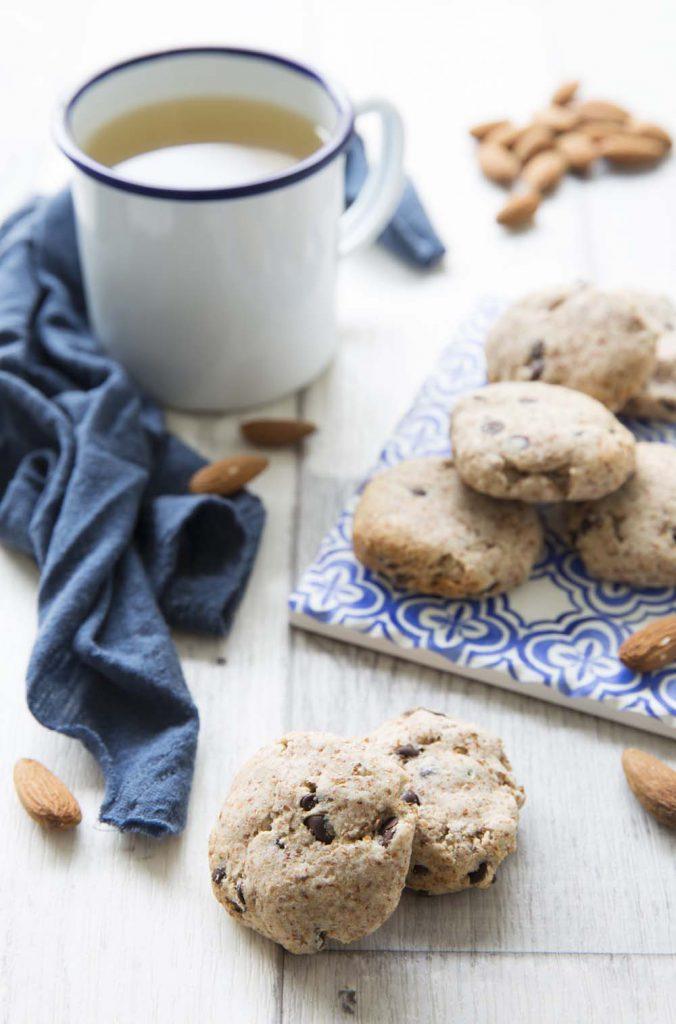 Photo de la recette : Cookies à l'okara et chocolat