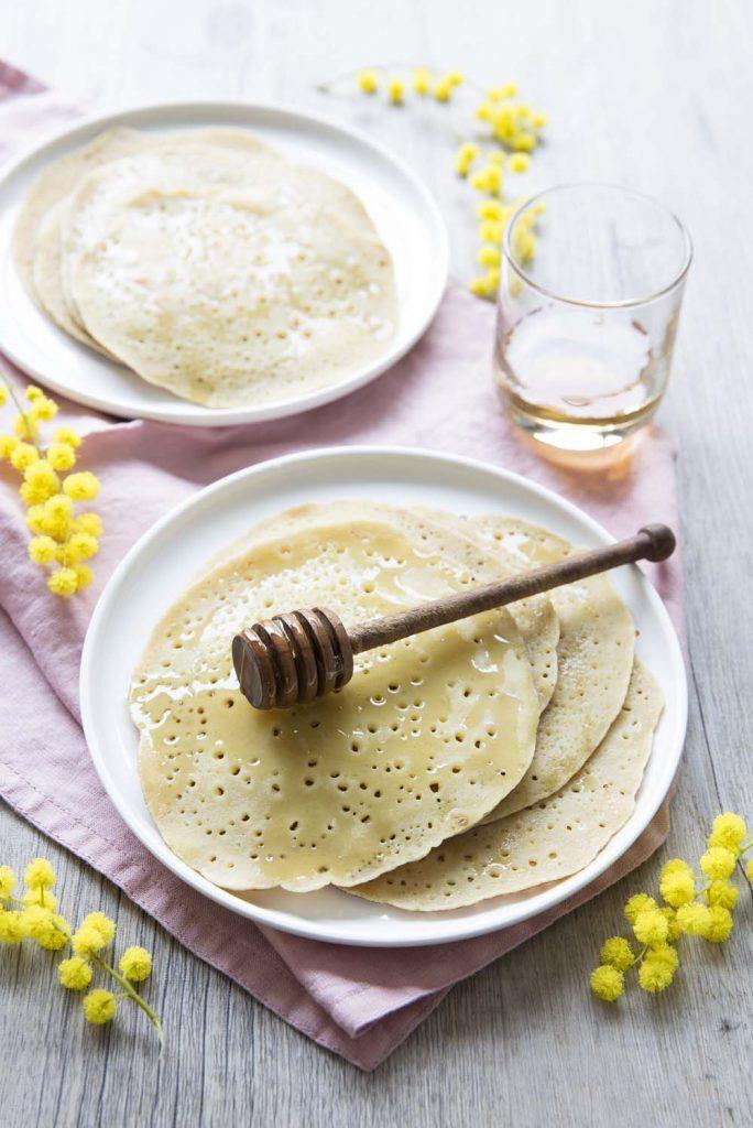 Photo de la recette : Baghrirs, les crêpes marocaines aux milles trous