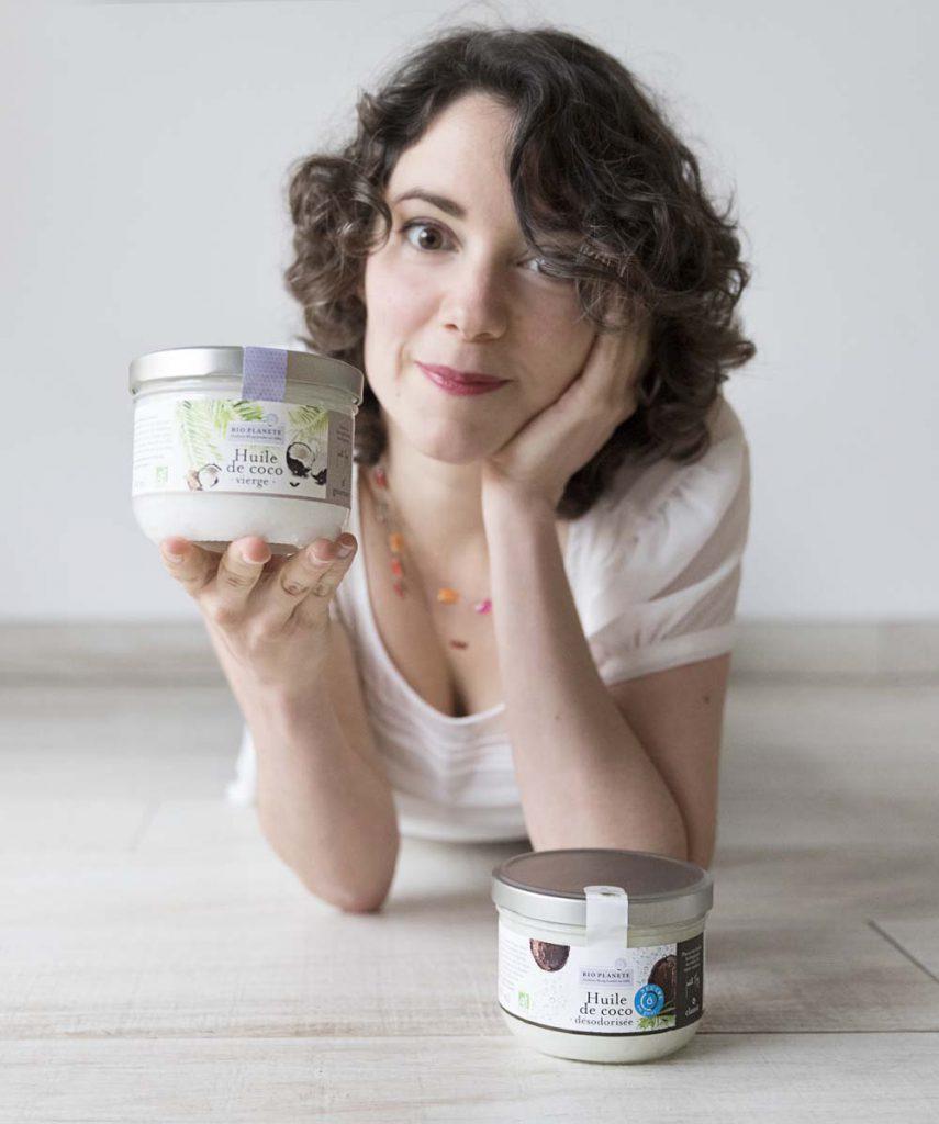 Portrait Marie-Laure Tombini & huile de coco Bio Plète