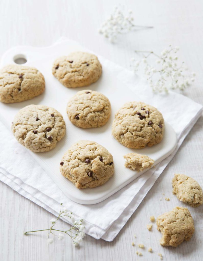 Recette Les Cookies aux pépites de chocolat de Juliette Pochat